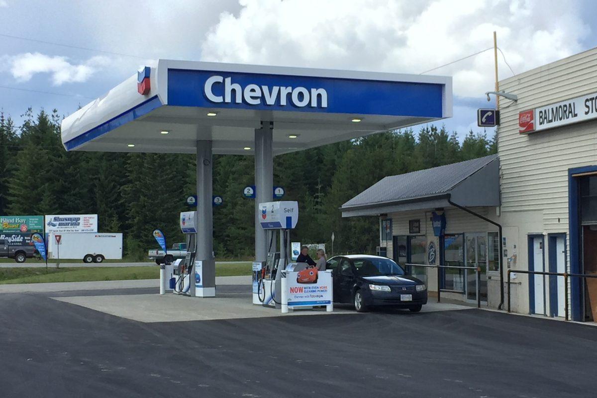 Chevron - Balmoral, B.C.